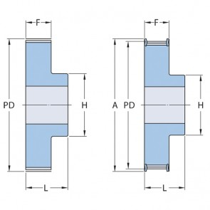 Aluminium_tandriemschijf_21-T5-10_2_PHP_21-T5-10RSB_SKF_T5x10x5_mmx10_mmxVoorgeboord